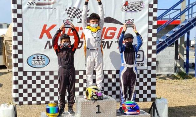 Daniel Fernández gana en el Campeonato Nacional Fórmula Karts