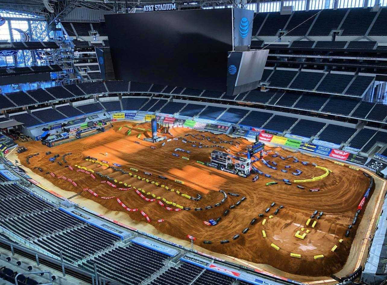 FIM Supercross 2021 450SX and 250 Main Event Highlights – Round 11 – Arlington