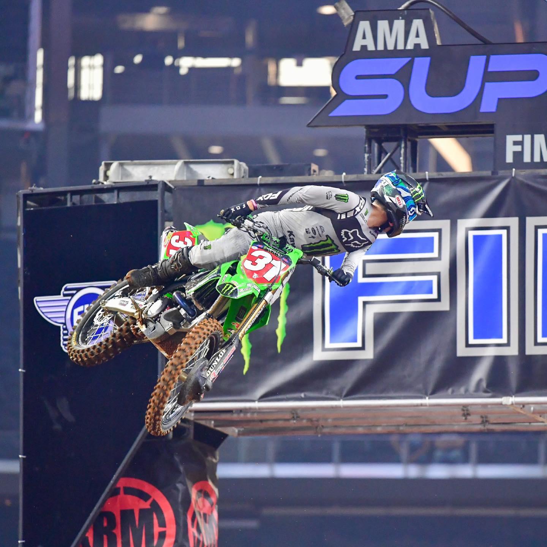 FIM Supercross Round 10 Arlington 1 450SX and 250 Main Event highlights 2021