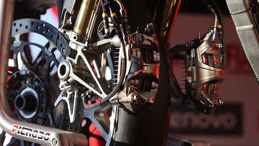 Los frenos que se usan en el FIM Campeonato Mundial de Superbike 2021