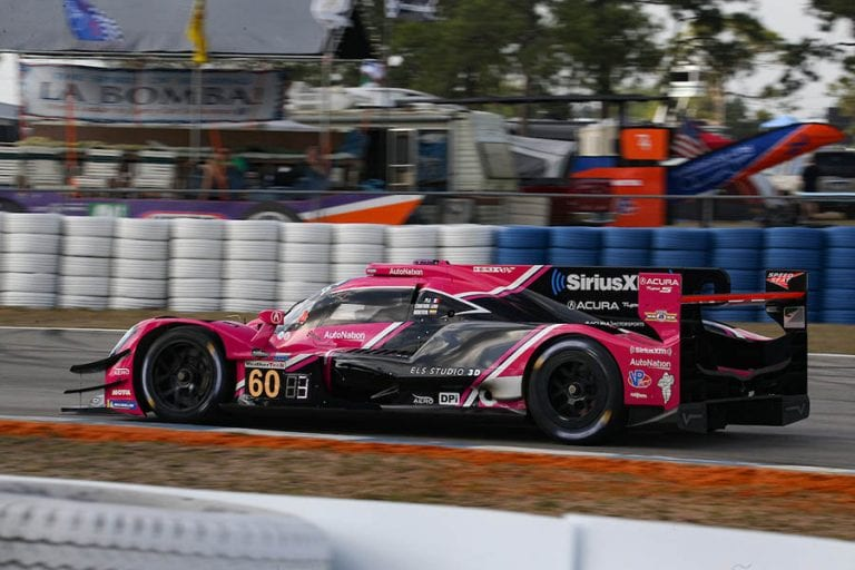 Juan Pablo Montoya conquistó el podio en las 12 Horas de Sebring