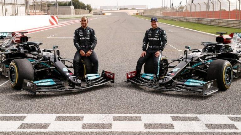 Lewis Hamilton ganador del GP de Bahréin 2021 de Fórmula 1