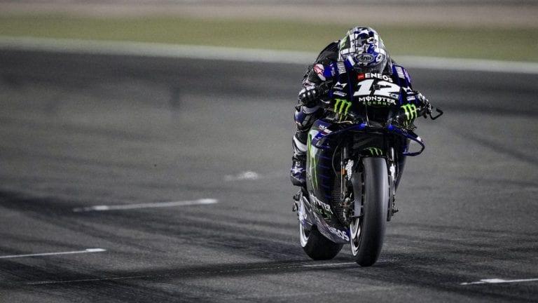 Maverick Viñales, ganador del Gran Premio de Qatar 2021 de MotoGP