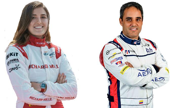 Juan Pablo Montoya y Tatiana Calderón corren las 6 Horas de Spa del FIA WEC