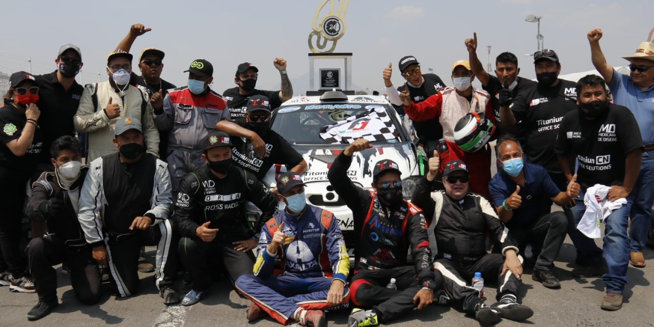 Michel Jourdain Jr, Alfonso Celis, Andrés Orea, y Rubén Rovelo ganan las 24 horas de México 2021