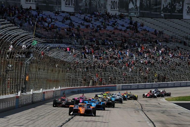 Victoria de Pato O'Ward IndyCar Series Round 4 XPEL 375 Texas Motor Speedway 2021