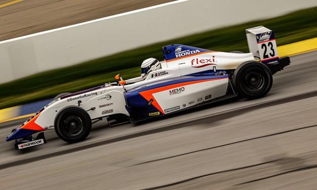 Arturo Flores y El Gonella Flexi Racing, a Road America por la 2a fecha de F4 U.S. Championship
