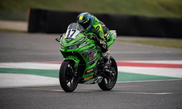 Emiliano Lancioni a la segunda fecha del Campeonato Italiano de Velocidad 2021