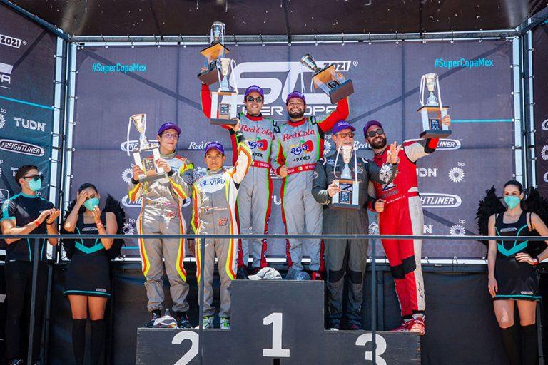 De punta a punta, el Sidral Aga Racing Team triunfó en la Copa Mercedes-Benz en Aguascalientes