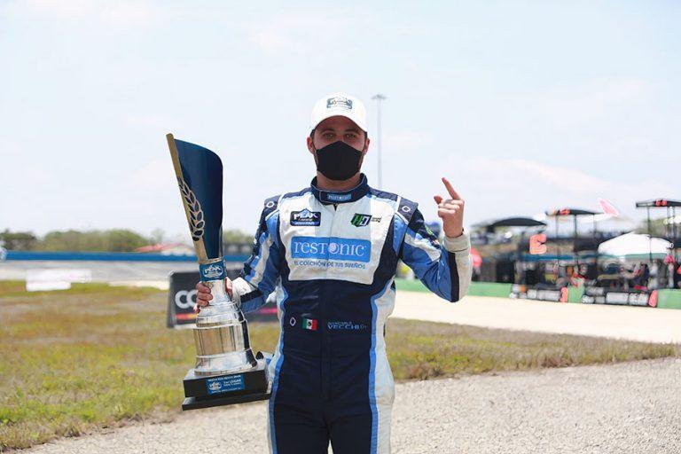 Giancarlo Vecchi, conquistó chiapas en 1ª fecha de FB y Bohn Mikel's Trucks