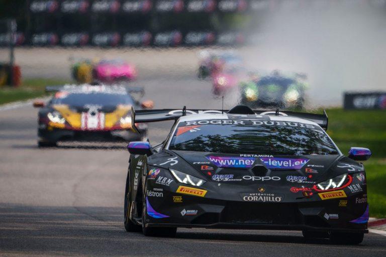 Raúl Guzmán a la segunda fecha de Lamborghini Súper Trofeo en el Circuito Paul Ricard