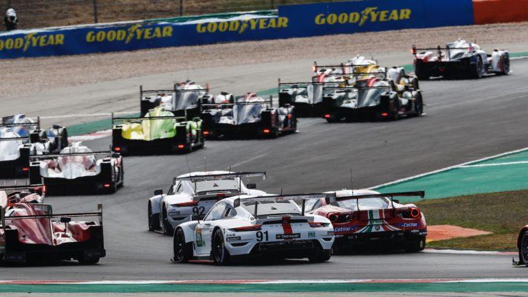 Porsche sube al podio en las categorías GTE-Pro y GTE-AM en Portimão