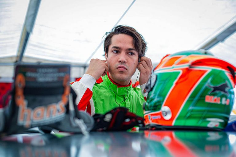 El Tapatío Salvador de Alba Jr., probará un Indy Light de Andretti Autosport Indy