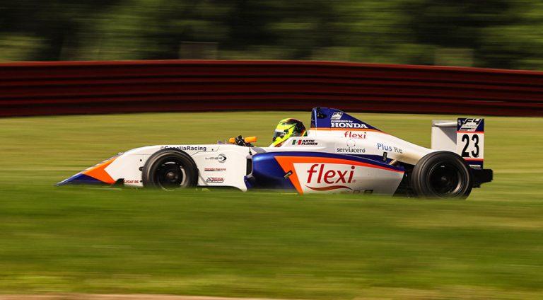 Brainerd International Raceway, el nuevo reto de Arturo Flores en F4 United States Championship