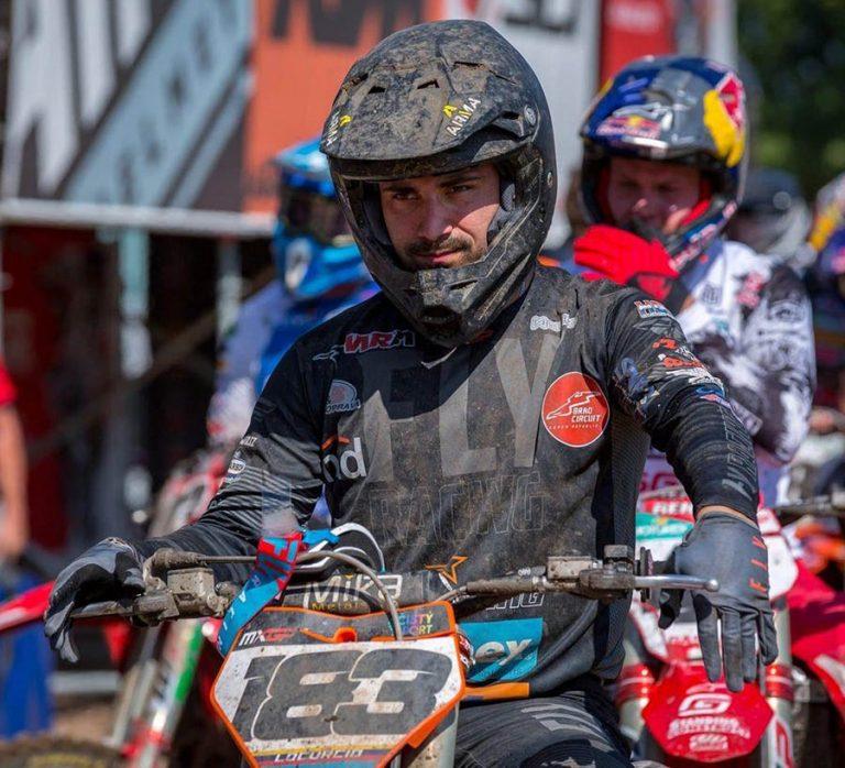 Lorenzo Locurcio se recupera de fuerte golpe en Holanda
