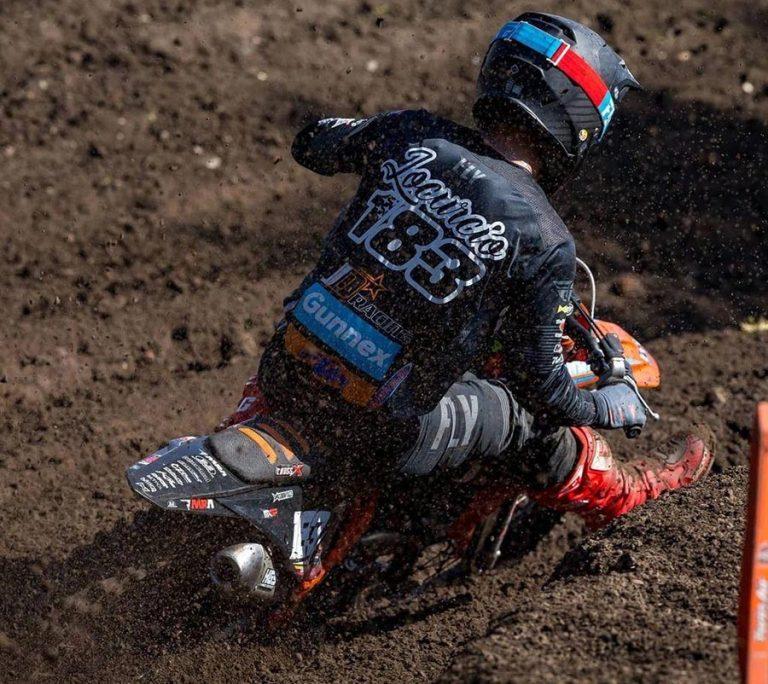 Lorenzo Locurcio finaliza 14 en la República Checa del MXGP