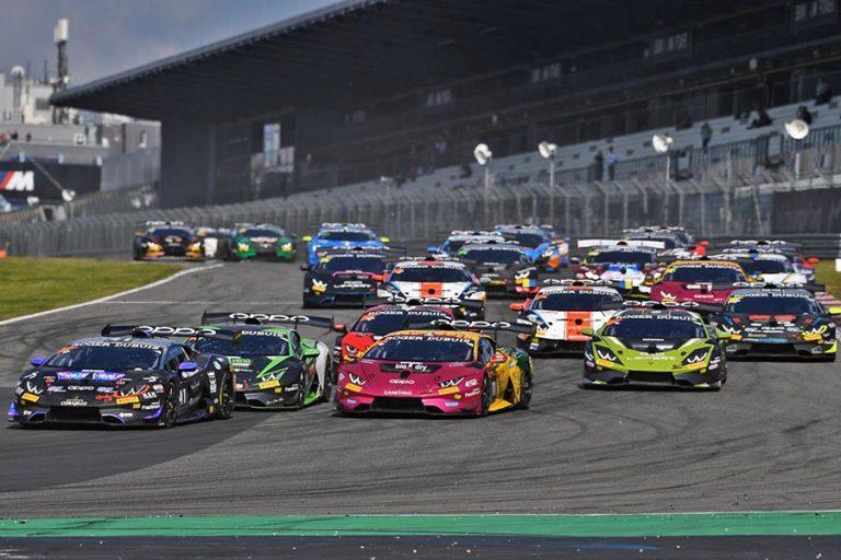 Podio para el mexicano Raúl Guzmán en Nürburgring en Súper Trofeo Europa