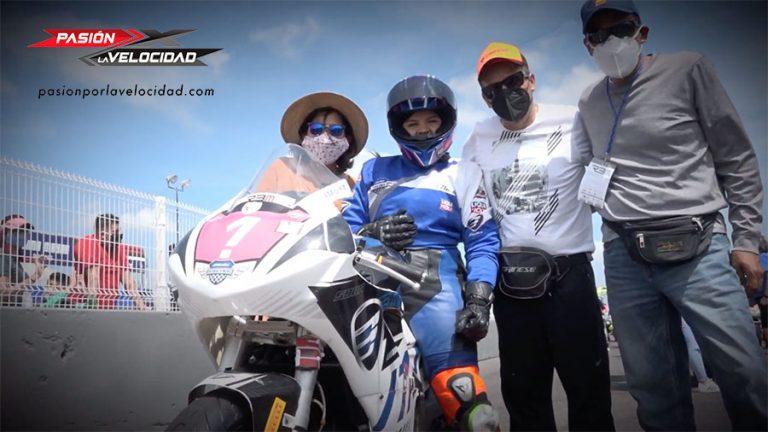 VIDEO: Luisa Blancas en la final Latinoamericano Motovelocidad Femenil 2021