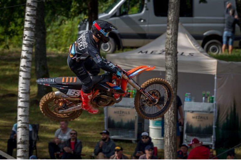Lorenzo Locurcio regresa a la acción en el MXGP