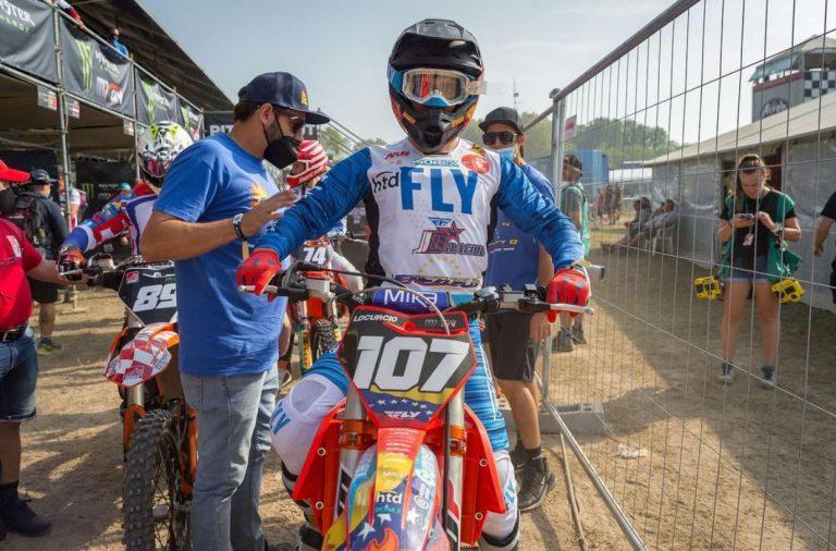 Lorenzo Locurcio suma puntos en España MXGP
